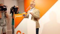 El president de Ciutadans al Parlament de Catalunya, Carlos Carrizosa, al Parlament