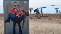 Oscar Camps és el protagonista del darrer grafit de TVBoy