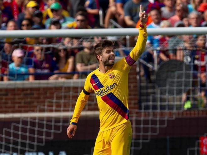 Gerard Piqué afronta la seva dotzena temporada al primer equip.
