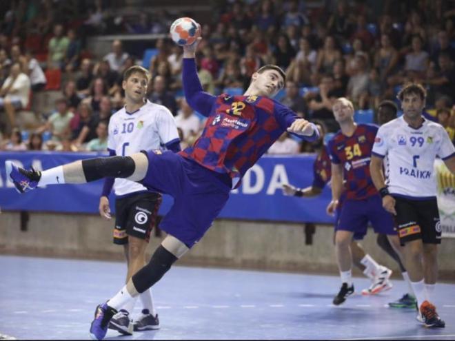 Ludovic Fàbregas , amb 7 dianes, ha estat el màxim golejador del partit