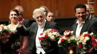 Plácido Domingo va ser aclamat ahir en el començament i final de 'Luisa Miller'