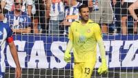 Diego López, clau en l'empat a Mendizorrotza gràcies a les seves aturades