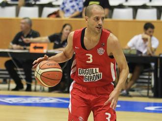 Sàbat , el jugador estel·lar del Bàsquet Girona