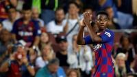Ansu Fati va estrenar titularitat amb un gol i va marxar ovacionat pel públic del Camp Nou