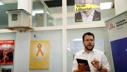 Pere Aragonès, vicepresident del Govern i adjunt a la presidència d'Esquerra