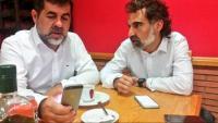 La imatge que Jordi Sánchez ha publicat al seu Twitter