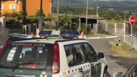 La casa de Valga,a Pontevedra, on ha tingut lloc el triple assassinat