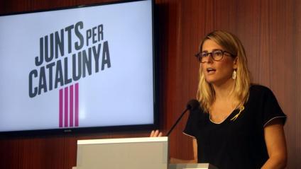 La portaveu de JxCat a l'Ajuntament de Barcelona, Elsa Artadi,