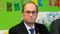 El president de la Generalitat, Quim Torra El president de la Generalitat, Quim Torra