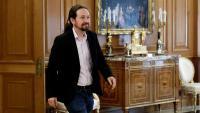 El líder de Podem, Pablo Iglesias
