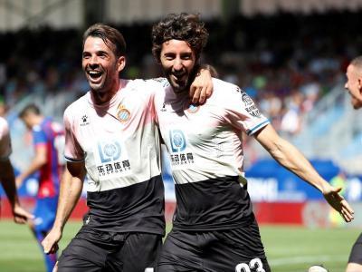 La cara de la felicitat de Víctor Sánchez i Granero d'ahir a Ipurua