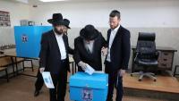Jueus ortodoxos votant