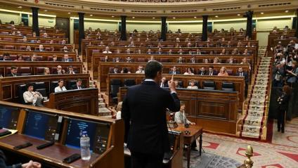 Pedro Sánchez al Congrés dels Diputats