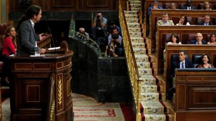 Pedro Sánchez ha explicat la distància existent entre Podem i el PSOE