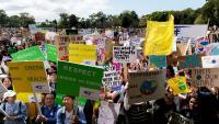 Protestes a Sydney per demanar msures contra el canvi climàtic