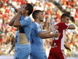 Marc Gual va fer el seu primer gol, insuficient per puntuar