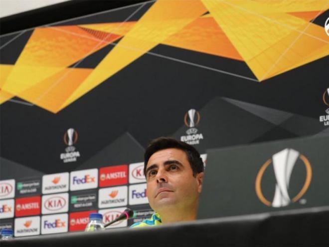David Gallego viurà un partit especial davant el Ferencvaros.