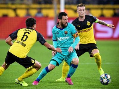 Messi va reaparèixer contra el Borussia Dortmund en el debut europeu