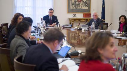 Un consell de ministres amb Pedro Sánchez al capdavant
