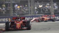 Vettel i Leclerc.