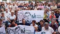 Un moment de l'assemblea de Más Madrid aquest diumenge