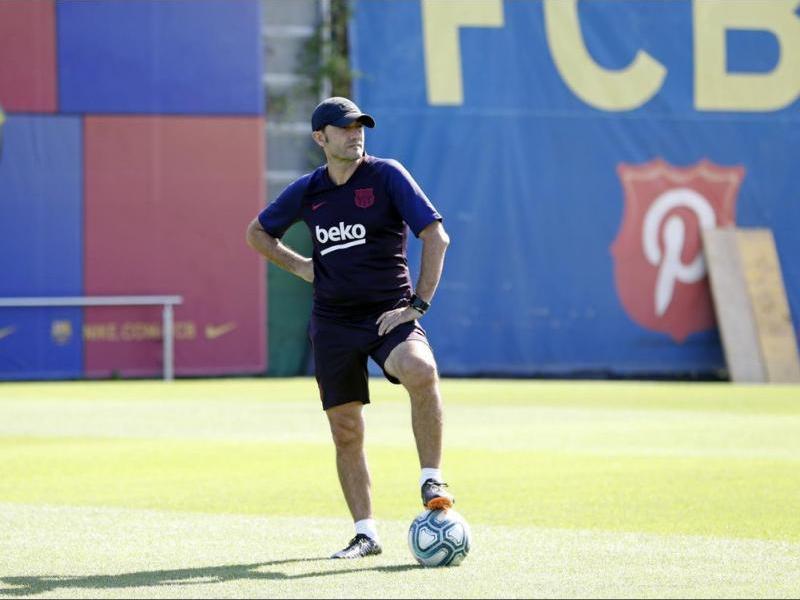 Valverde, en l'entrenament