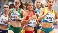 Esther Guerrero en el mundial de Doha