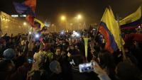 Equatorians celebren l'acord entre el govern i els indígenes