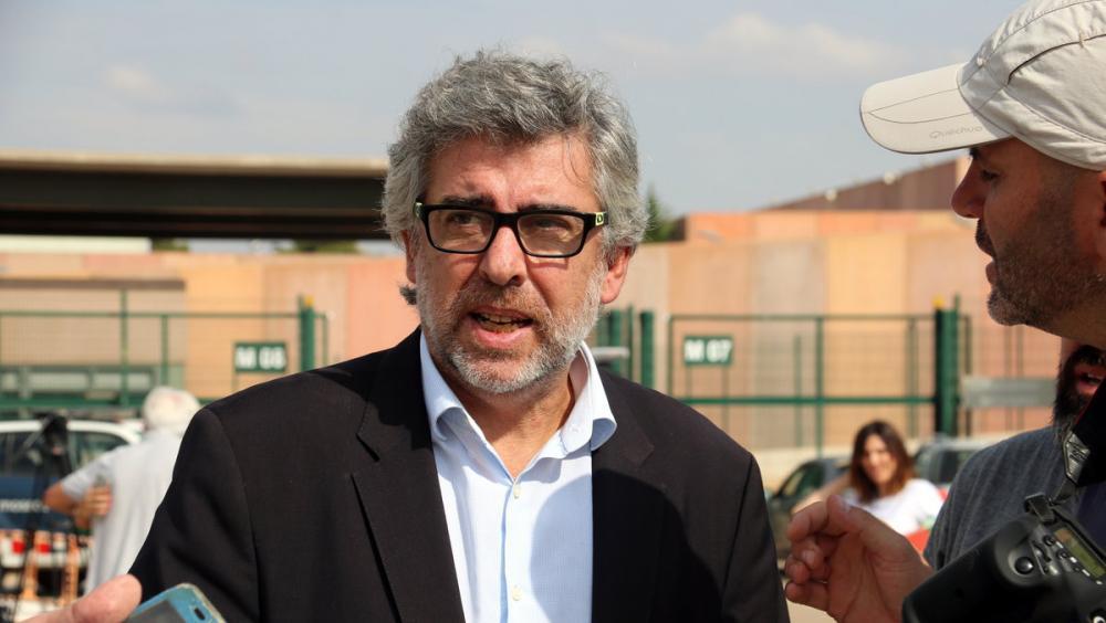 L'advocat Jordi Pina a Lledoners