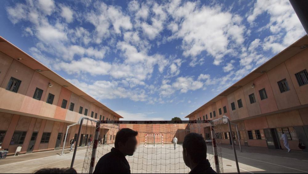 Mòduls de confiança , a la presó de Lledoners, a Sant Esteve Sesrovires, on són set dels nou presos polítics