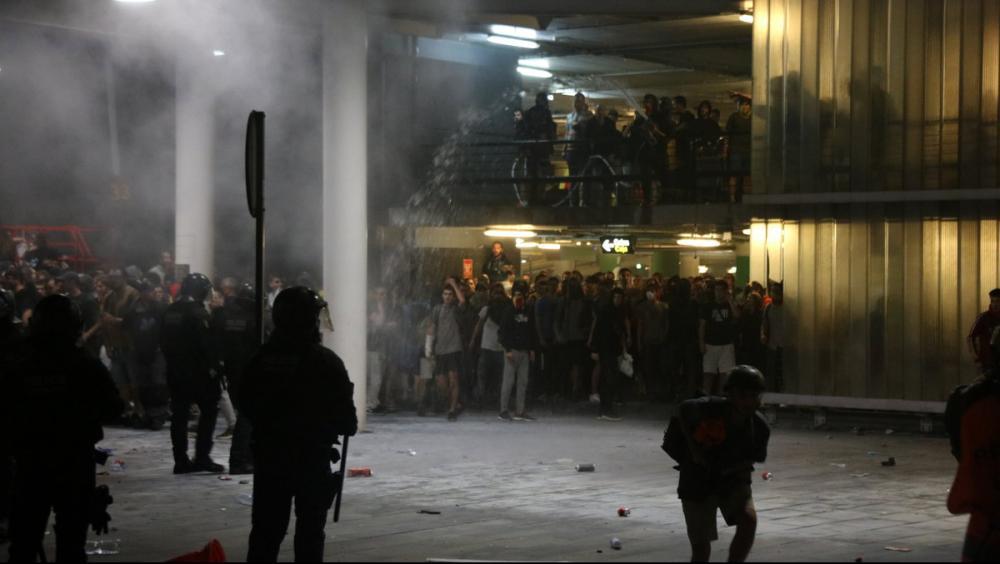 """Tsunami Democràtic desconvoca la manifestació a la T1 però alerta: """"Farem de cada mobilització una victòria"""""""