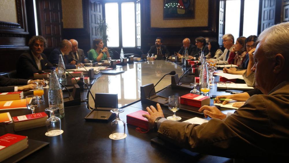 Reunió de la Junta de Portaveus d'aquest dimarts