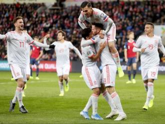 Espanya arriba al partit a Solna després d'empatar per primera vegada en tota la classificació
