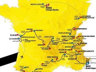 Les etapes del Tour del 2020