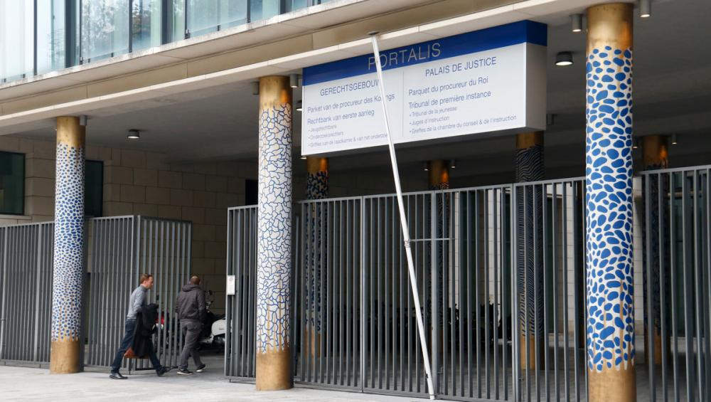 L'edifici on hi ha, entre altres instàncies, la fiscalia de Brussel·les