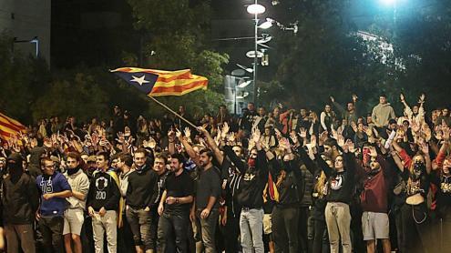 <b>Protesta </b>a Girona.