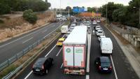 Retencions a l'AP-7 a Tarragona aquest dimecres