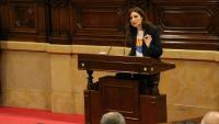 Lorena Roldán al Parlament