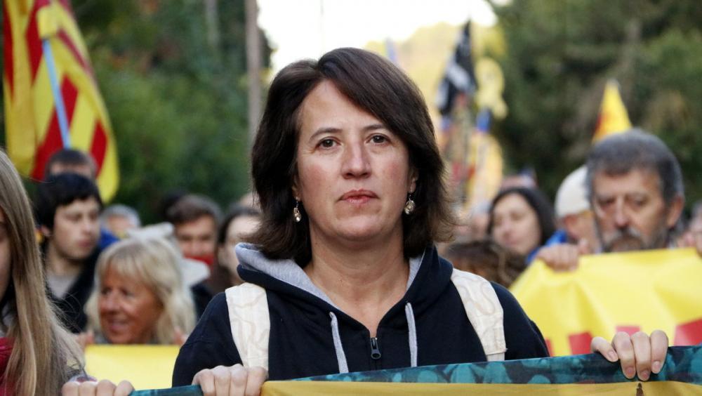 La presidenta de l'Assemblea Nacional Catalana, Elisenda Paluzie
