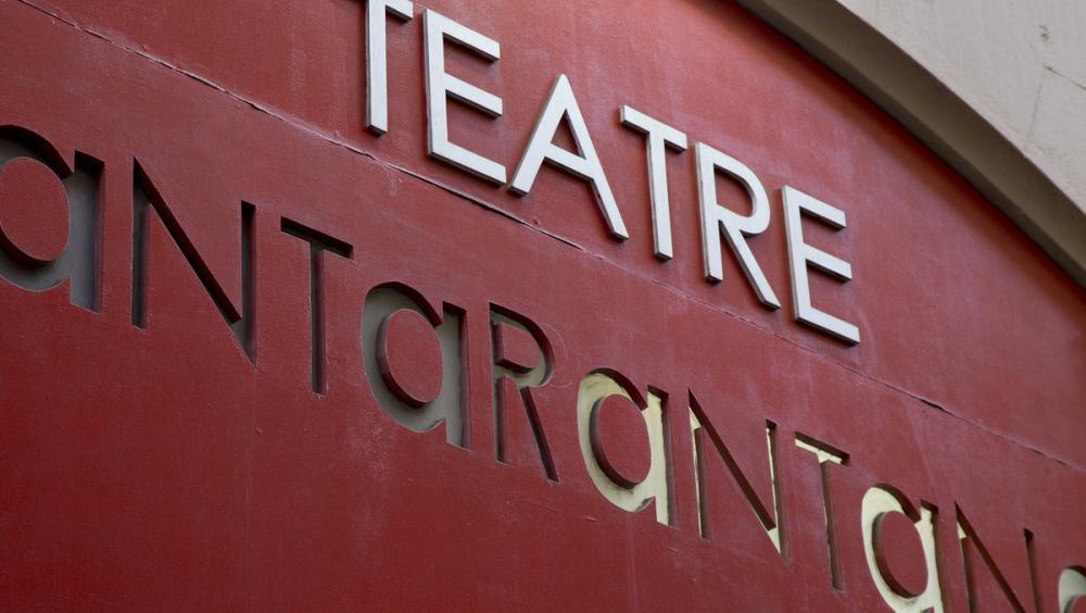 El Teatre Tantarantana és una de les instal·lacions teatrals que ha donat suport a la vaga