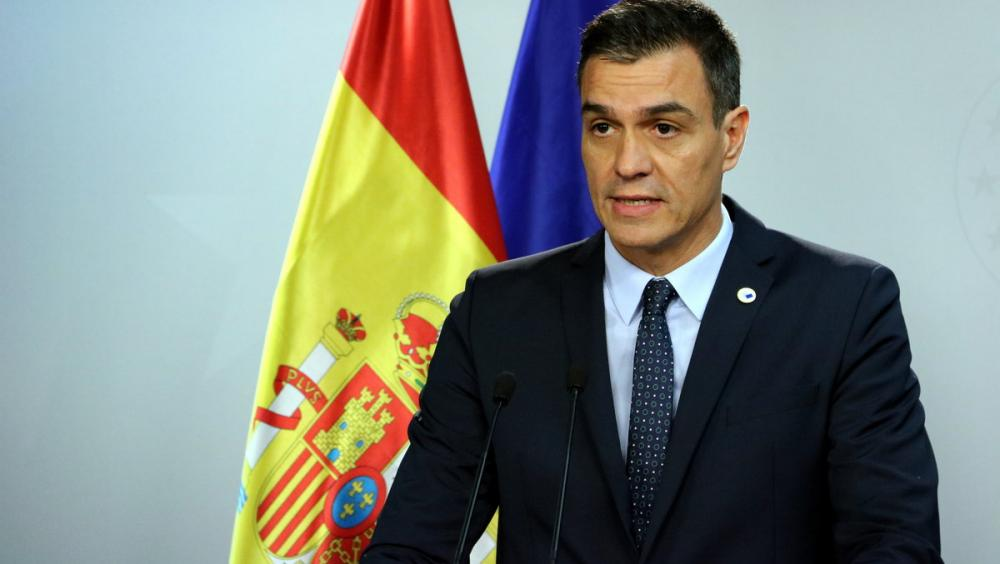 Pedro Sánchez, president espanyol en funcions