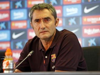 Valverde, en la roda de premsa