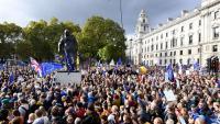 Manifestació en el centre de Londres per demanar un segon referèndum sobre el Brexit