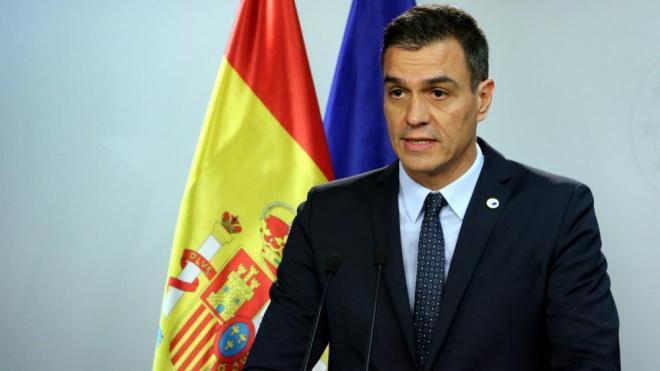 """Sánchez als policies espanyols a Barcelona: """"Ells volen persistir però nosaltres som molt més tossuts"""""""