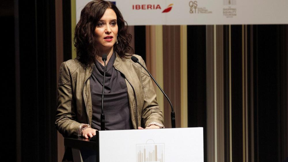Isabel Díaz Ayuso, presidenta de la Comunitat de Madrid