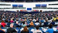 Imatge d'un plenari de l'Eurocambra