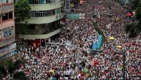 Milers de manifestants en les protestes a Hong Kong en contra de la llei d'extradició a la Xina