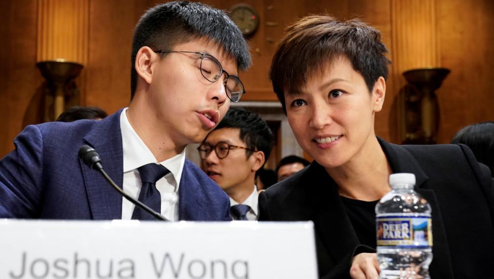 El líder del moviment estudiantil de Hong Kong, Joshua Wong