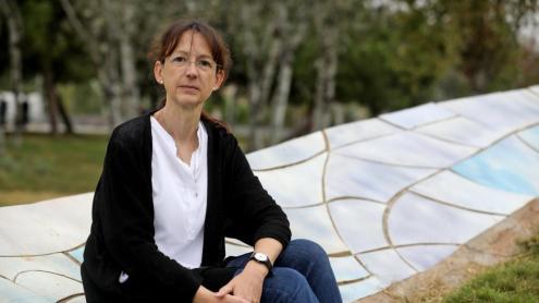 Cecília Borràs, a Barcelona.