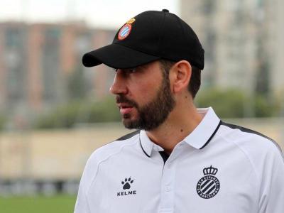 Pablo Machín s'estrenarà demà a la banqueta de l'Espanyol davant el Vila-real.